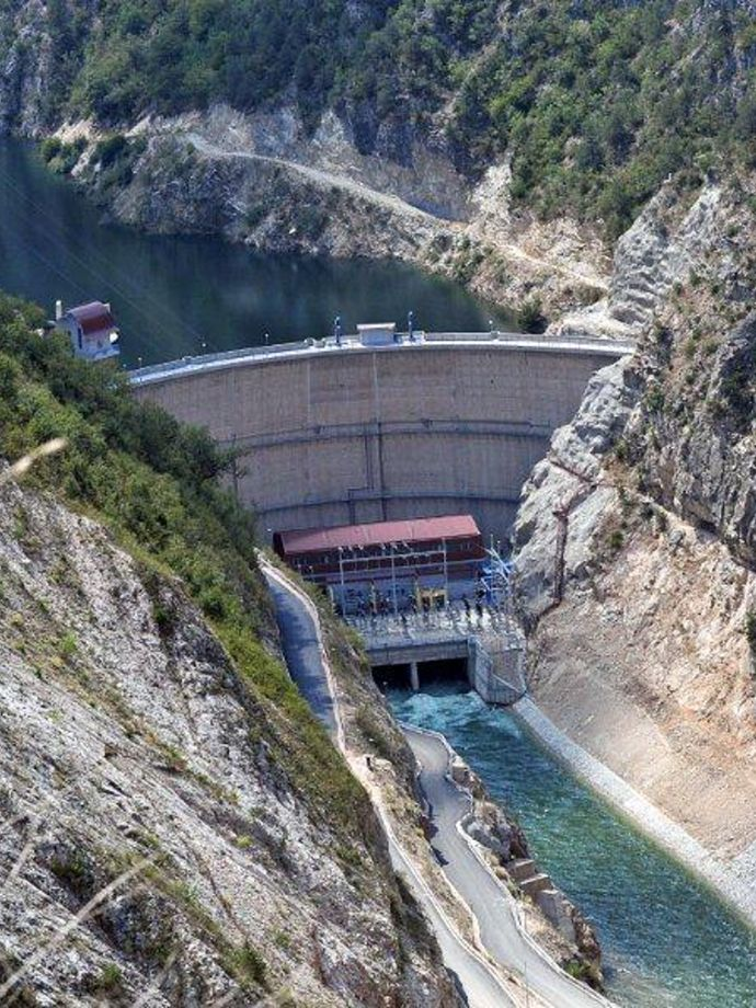 Supply and installation of hydro mechanical equipment for hydropower for HPP Sv. Petka