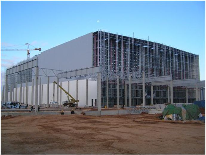 Automated storage and distribution center IKEA