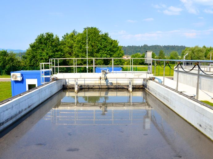 Water treatment plant in the Municipality of Grosuplje