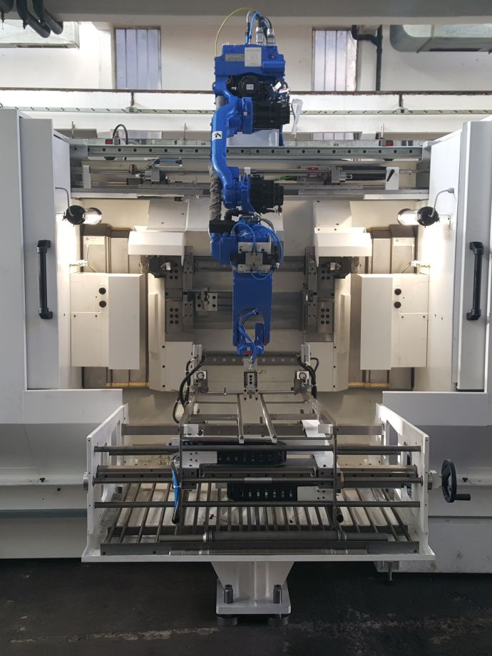 Delivery of three special end machining centres with automatic loading/ unloading solution
