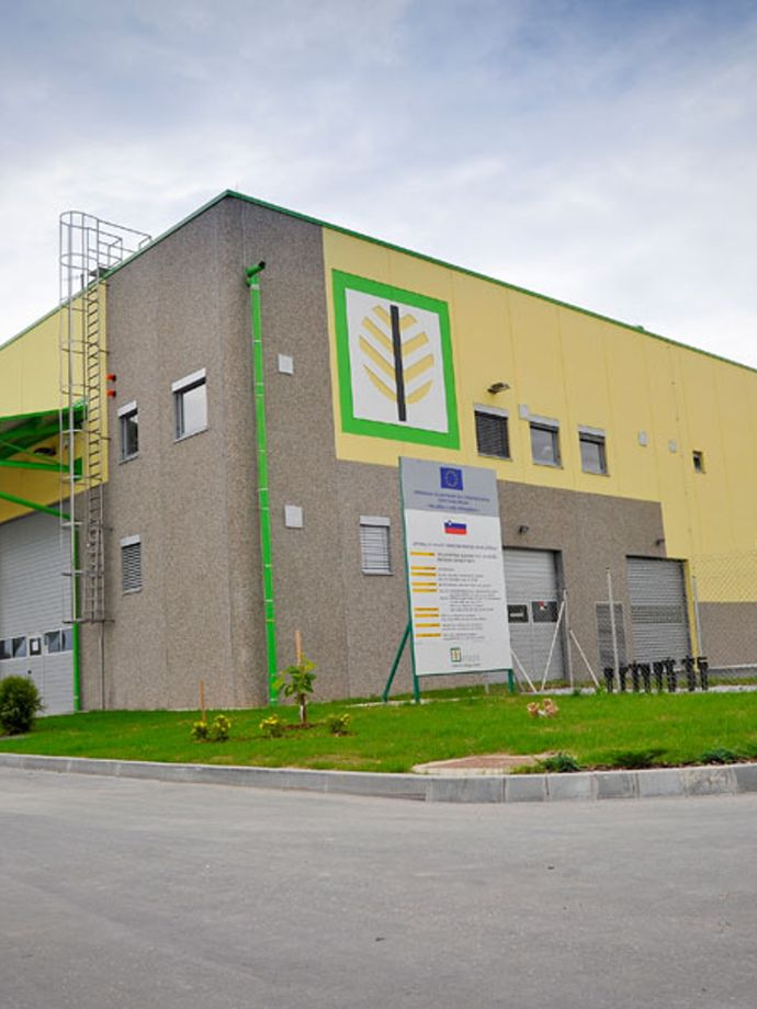 Landfill leachate treatment plant in the regional waste management centre (RCERO Ljubljana)