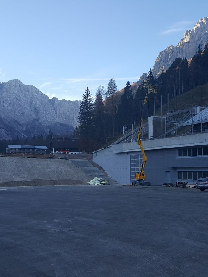 Implementation of a wholesome system of water supply in the Nordic Centre Planica