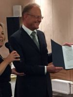 Janez Škrabec became  Honorary Consul of the Republic of Belarus