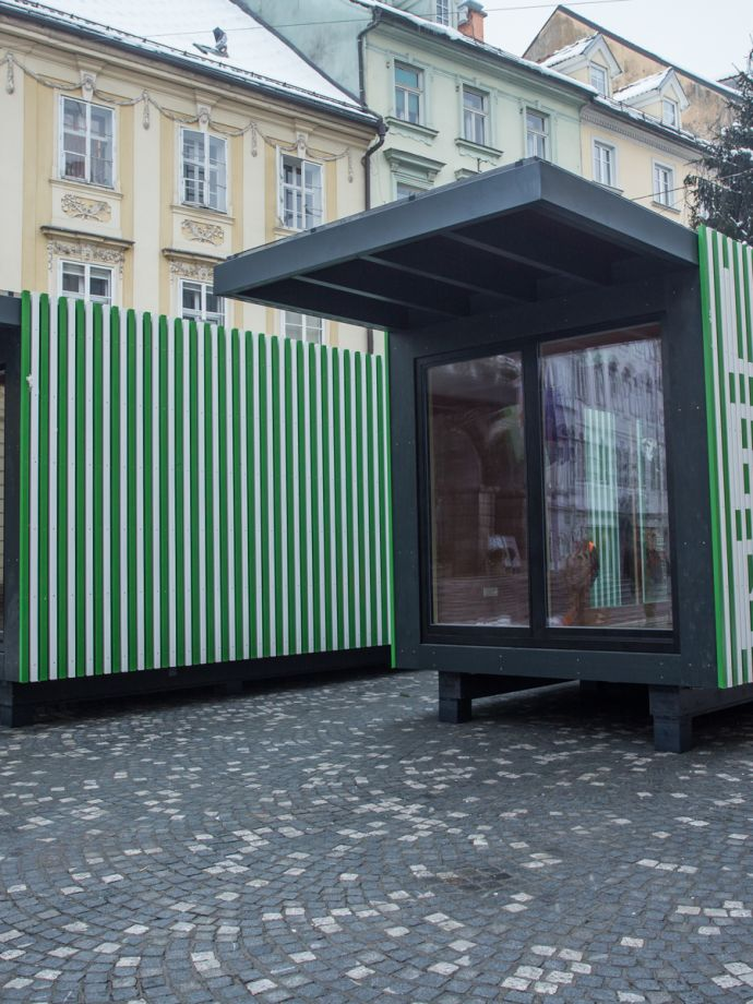 Pavilion of Ljubljana European Green Capital 2016