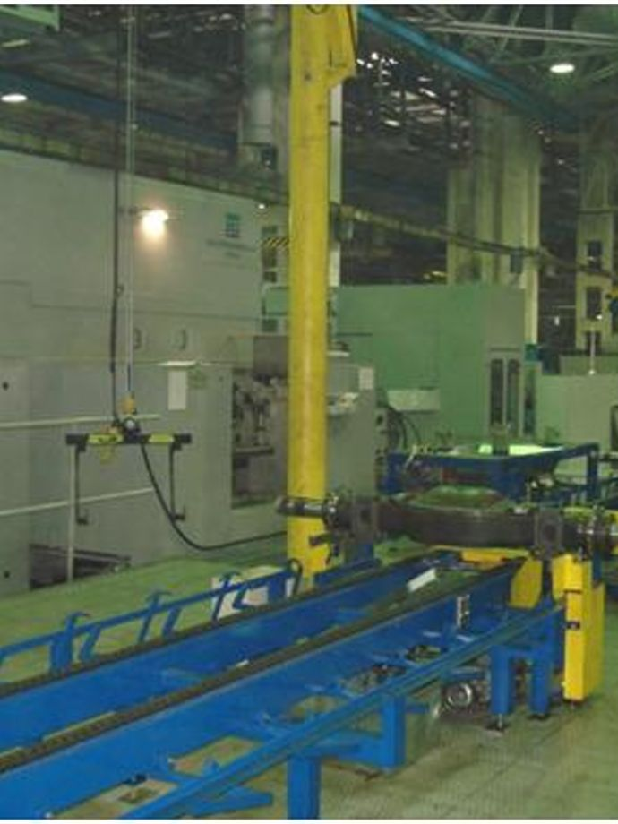 Lifting devices in production