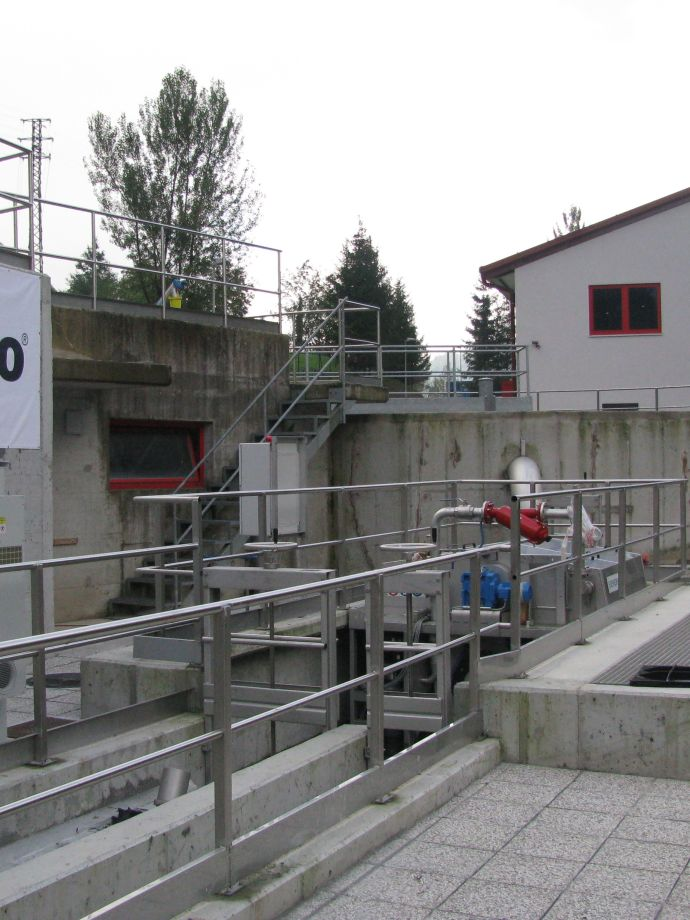 Central Wastewater Treatment Plant Idrija