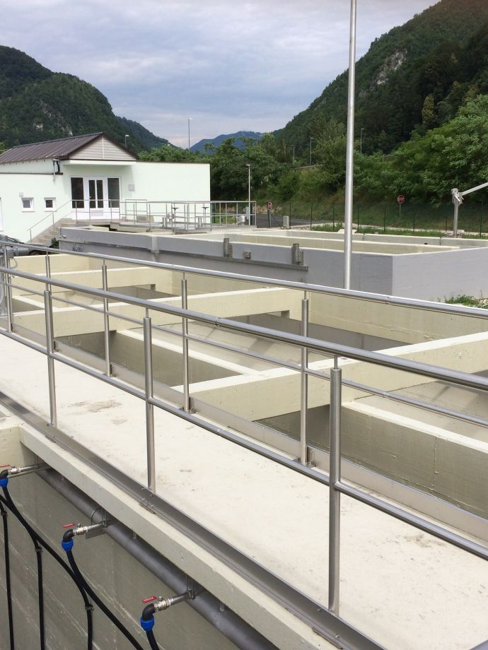 Construction of the central wastewater treatment plant in the municipality Radeče
