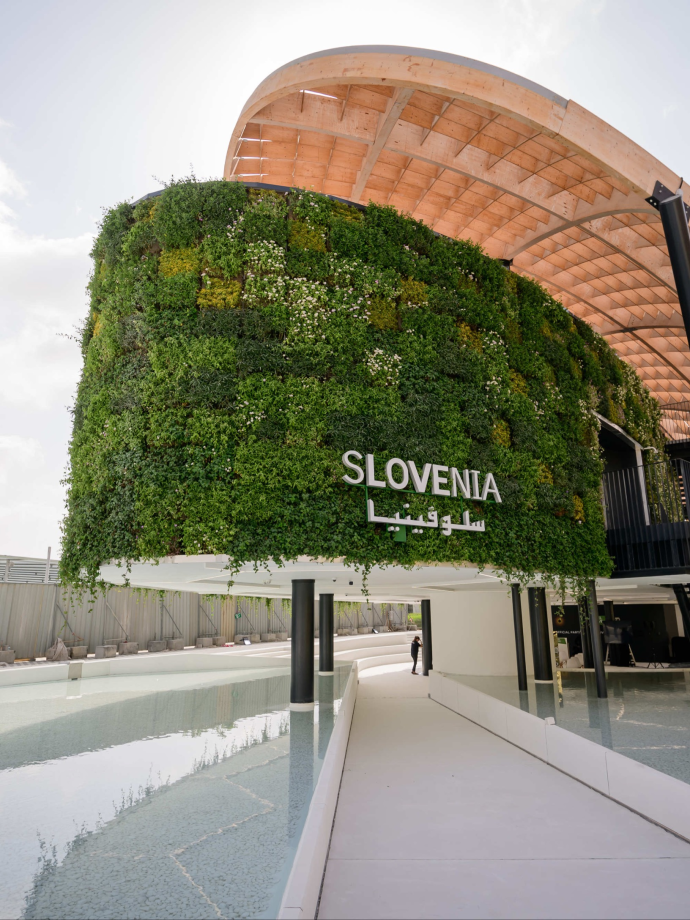 Slovenian Pavilion at Expo 2020 Dubai