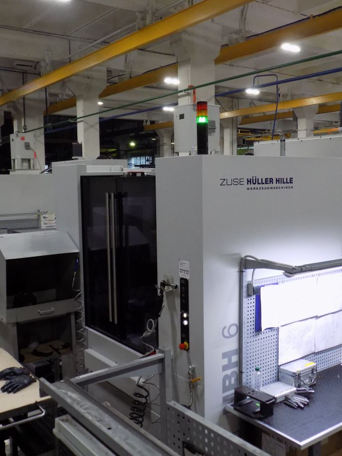 Supply of three NBH6 horizontal machining centers