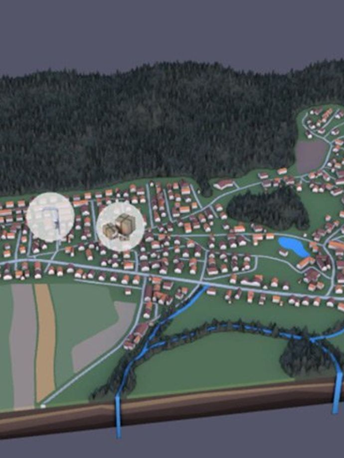 Pilot Project »Smart Mlaka«, urban residential area near Kranj